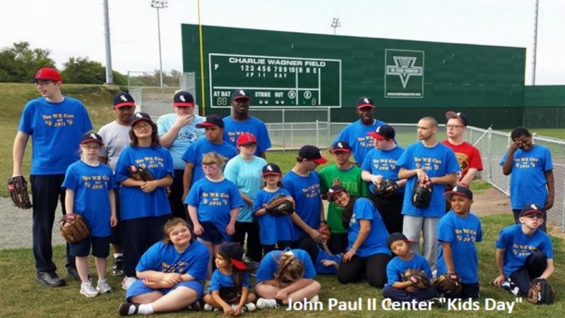 Youth Baseball Team at the Big Vision Sports Complex in Reading PA