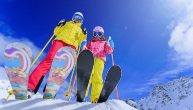 Ski Roundtop Ski Lessons and Rental Package