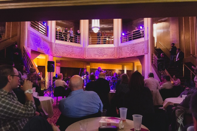 The Rotunda Hall is the place to be for a 360 view of a concert