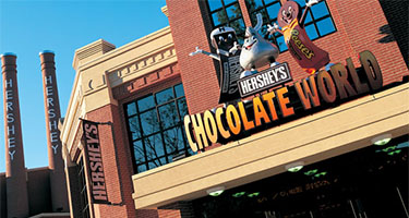 Hershey Chocolate World Hershey PA