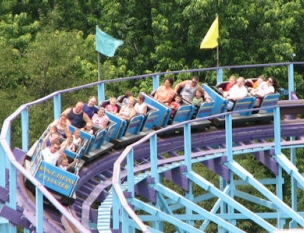 Kingdom Coaster is the wooden roller coaster located at Dutch Wonderland near Lancaster, Pennsylvania.