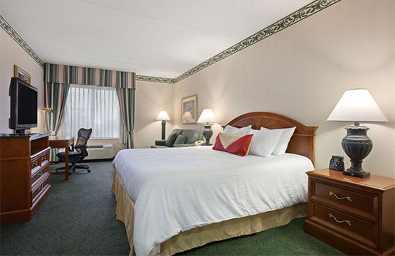 Double Queen Guest Rooms at Hotel in Wilkes Barre PA Hilton Garden Inn