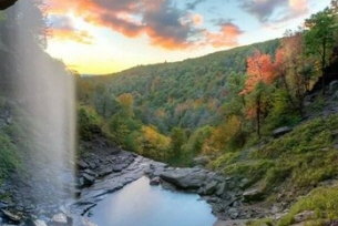 Visit Kaaterskill Falls and and see why this 260 foot waterfall has been one of the ... home to many treasures