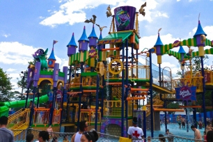 The Count's Splash Castle, a multi-level interactive water-play attraction – our largest one ever.