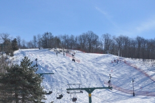 "The mountain that started so many years ago as a savvy marketing tool has grown to be a cherished place for people to fall in love with winter. Mount Peter, known as ""The Friendly One"", is the oldest operating ski area in New York State, and one of the few remaining family-operated ski areas in the country."