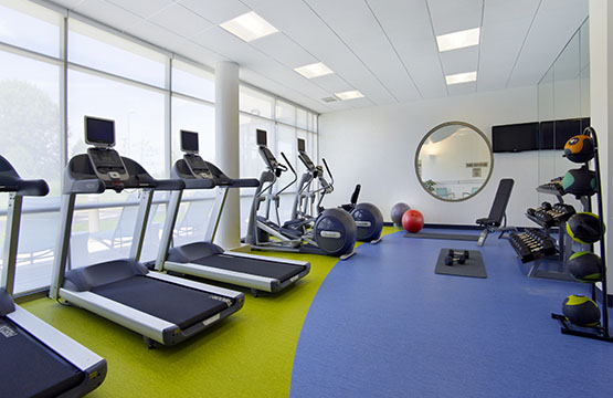 State of the Art Fitness Center in the Springhill Suites of Ewing NJ
