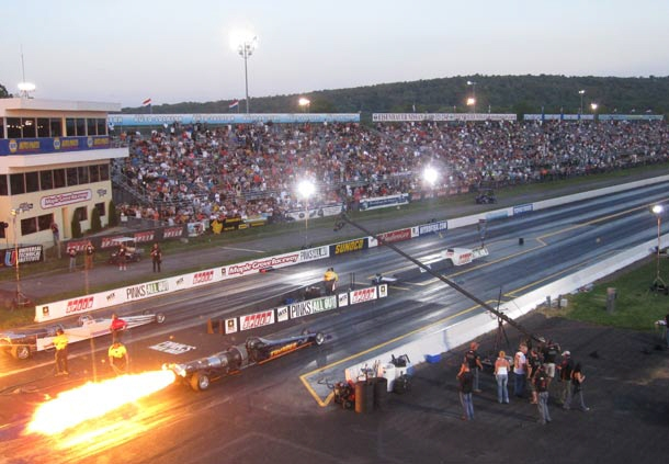 Maple Grove Raceway is a quarter-mile dragstrip located near Mohnton, Pennsylvania, just outside Reading.