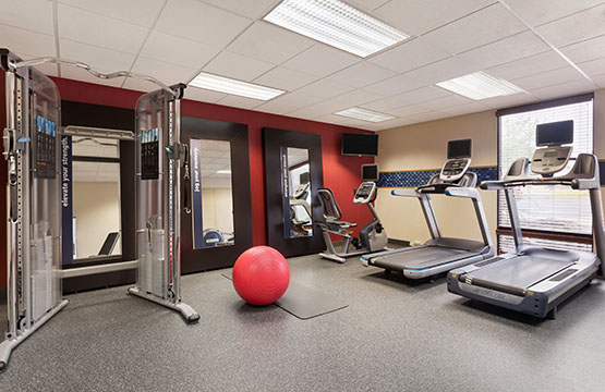Hampton Inn Lancaster PA Fitness Center