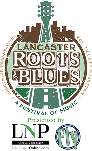 Lancaster Roots and Blues Festival Logo