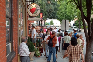 About First Friday There's nothing like a First Friday in Lancaster! Join in Lancaster's highly popular arts extravaganza each and every First Friday.