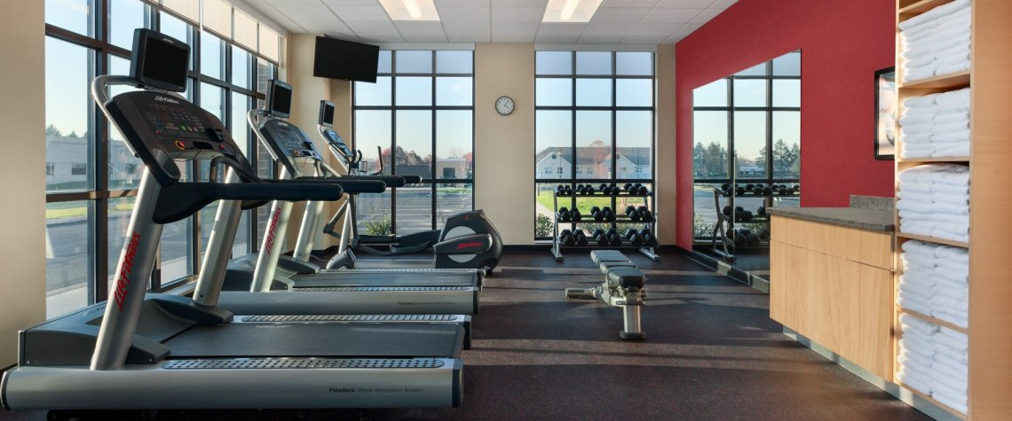 Fitness Center at TownePlace Suites Hotels Harrisburg PA