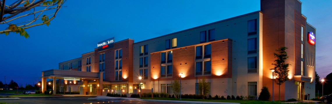 Exterior of SpringHill Suites Hotels Ewing NJ - Sub Page.jpg