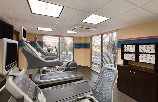 Fitness Center at Harrisburg Hampton Inn Hotels Mechanicsburg Pa
