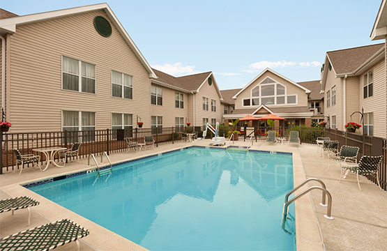 Homewood Suites Hotels Mechanicsburg PA Outdoor Pool