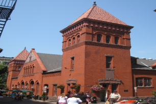 Central Market, also known as Lancaster Central Market, is a historic public market located in Penn Square, in downtown Lancaster, Pennsylvania. Until 2005, the market was the oldest municipally-operated market in the United States.