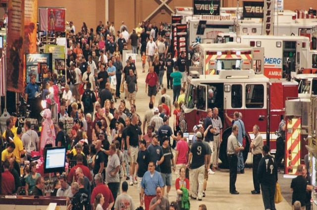 Lancaster County Firemen's Association Annual FIRE EXPO Show held at Pennsylvania Farm Show & Expo Center in Harrisburg, PA. This Fire Expo is the largest emergency services expo in the United States