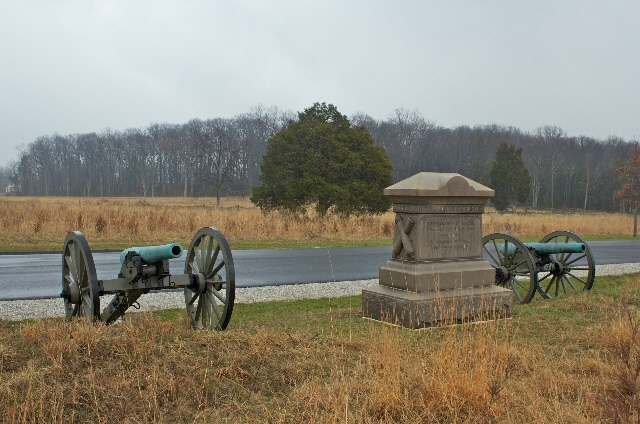 Battery C, 5th United States Artillery Monument