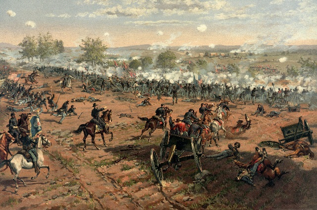 On the third day of the Battle of Gettysburg, Confederate General Robert E. Lee's last attempt at breaking the Union line ends in disastrous failure