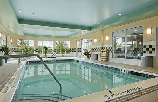 Our indoor swimming pool and hot tub will keep you exercising or relaxing after a long day of fun.