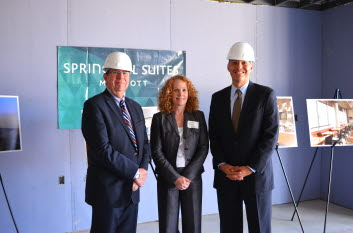 SpringHill Suites by Marriott Mt Laurel Topping Off