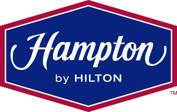Hampton Inn by Hilton Hotel for hersheypark Mechanicsburg PA logo