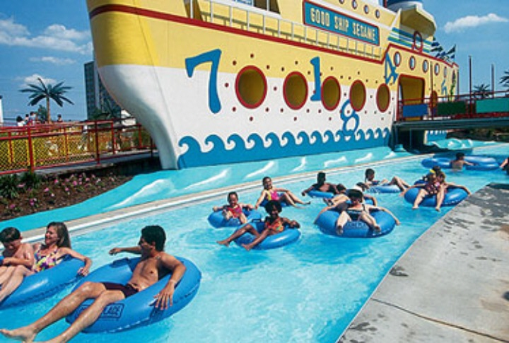 Feeling Lazy? Hop in our lazy river next to the Good Ship Sesame and wander around for a while
